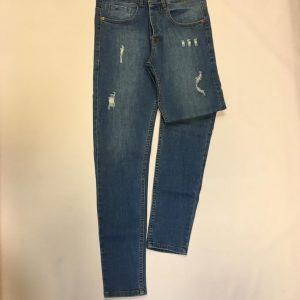 شلوار جین مردانه لویی ویتون زاپ دار